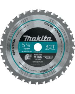 "Makita A-96095 5-7/8"" 32T Circular Saw Blade for Ferrous Metals"
