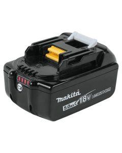 Makita BL1850B 18V LXT Lithium-Ion Battery, 5.0 Ah