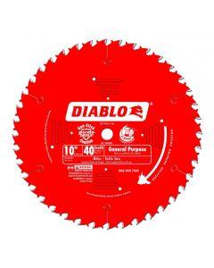 """Freud Diablo D1040X 10"""" 40T ATB Circular Saw Blade"""