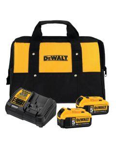DeWalt DCB205-2CK 20V 5.0 Ah 2-Battery & Charger Starter Kit