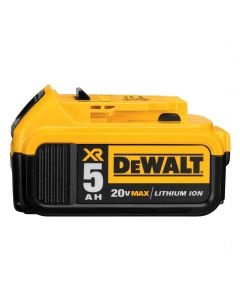DeWalt DCB205 20V Lithium-Ion Battery Pack, 5.0 Ah