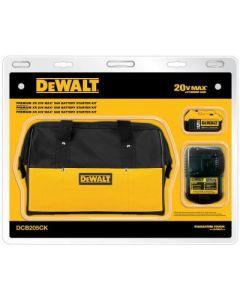 DeWalt DCB205CK 20V MAX Battery and Charger Starter Kit, 5 Ah Lithium-Ion
