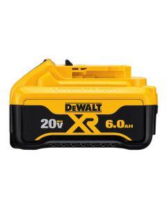 DeWalt DCB206 20V Lithium-Ion Battery Pack, 6.0 Ah