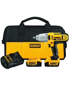 "DeWalt DCF889M2 20V Max Lithium-Ion Cordless 1/2"" High Torque Impact Wrench Kit, 4.0Ah Batteries"