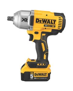 DeWalt DCF899P2 Impact Wrench Kit, 1/2 inch Sq x 9 inch Length, 0 - 400/1200/1900 RPM x 0 - 2400 IPM, 18 V Lithium-Ion