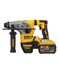 "DeWalt DCH293X2 20V XR Brushless Cordless 1-1/8"" SDS-Plus Rotary Hammer Kit, with 9.0Ah Batteries"