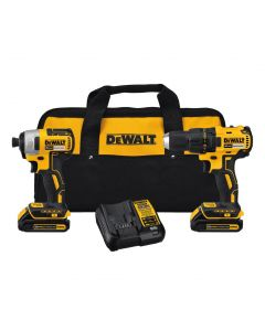 DeWalt DCK277C2 20V MAX Compact Brushless Drill-Driver and Impact Driver Combo Kit