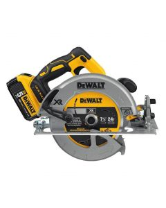 "DeWalt DCS570P1 20V MAX* 7-1/4"" Cordless Circular Saw with Brake, 1-Battery Kit"