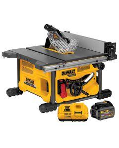 """DeWalt DCS7485T1 FlexVolt 60V Brushless 8-1/4"""" Table Saw Kit"""
