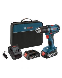 Bosch DDB181-02 18V Li-Ion Cordless Compact Drill-Driver Kit