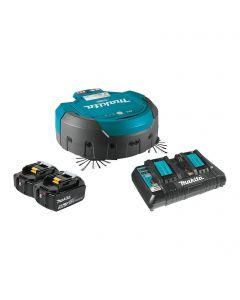 Makita DRC200PT 18Vx2 (36V) Brushless Cordless Robotic Vacuum Kit