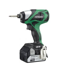 Hitachi DS18DSAL 18V Lithium Ion Compact Pro Driver Drill with Flashlight, 1.5Ah Batteries