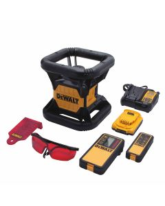 DeWalt DW074LR 20V Self-Leveling Rotary Laser Kit, 150 ft