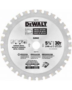 DeWalt DWA7770 5-1/2x30Tx20mm Ferrous Saw Blade