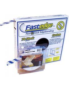 Fastcap Fast Edge™ FE.SP.15/16-50.BL Edge Banding Tape, PVC, Black