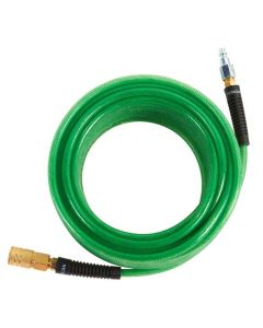 "Hitachi 115155 1/4"" x 50' Poly Air Hose, with 1/4"" Fittings"