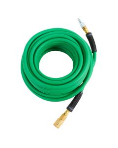 "Hitachi 115158 1/4"" x 50' Hybrid Air Hose, with 1/4"" Fittings"