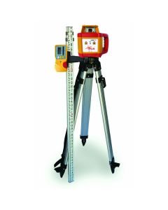PLS HR1000KIT Horizontal Rotary Laser Level with Detector, Tripod and Grade Rod