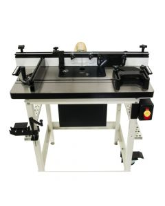 Jet 737000CK Cast Table Router Table Kit, with Router Lift
