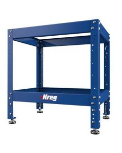 Kreg KRS1035 Heavy-Duty Multi-Purpose Shop Stand, 29 - 35 inch Adjustable, Powder-Coated Steel