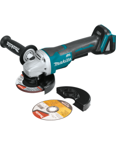 "Makita XAG11Z 18V LXT BL 4-1/2"" Cut-Off Angle Grinder, Paddle Switch, with Brake"