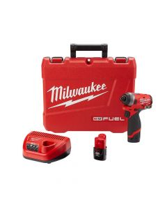 "Milwaukee 2553-22 M18 FUEL 1/4"" Hex Impact Driver Kit"