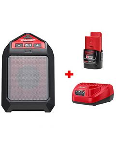 Milwaukee 2592-21 M12 Wireless Jobsite Speaker Kit