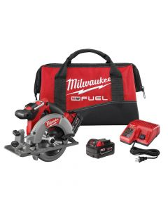 "Milwaukee 2730-22 M18 FUEL 6-1/2"" Circular Saw Kit"