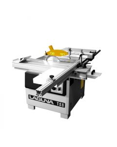 "Laguna MTSS000020 TSS 10/12"" Horizontal Sliding Table Saw, with Scoring Blade, 220 V, 3 HP"