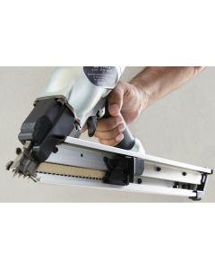 "Hitachi NR65AK2S 2-1/2"" Strap-Tite Fastening System Strip Nailer with Short Magazine"