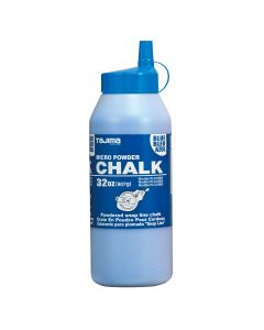 Tajima PLC2-B900 Ultra Fine Powdered Chalk Line, 32 oz, Blue