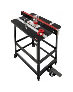 Woodpeckers PRP-2-V2420 Premium Phenolic Router Table with Router Lift