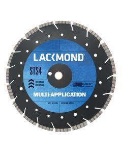 "Lackmond STS4141251 14"" x .125 x 1"" Multi-Application, Diamond Segment, STS-4 Circular Saw Blade"