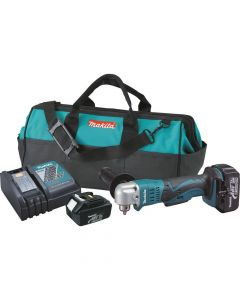 "Makita XAD01 18V LXT Lithium-Ion Cordless 3/8"" Angle Drill Kit, 3.0Ah Batteries"