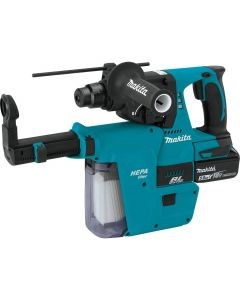 Makita XRH011TX 18V LXT SDS-Plus Rotary Hammer Kit with HEPA Dust Extraction