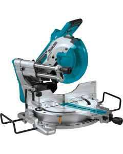 "Makita XSL04ZU 18V X2 LXT Lithium-Ion (36V) Brushless Cordless 10"" Dual-Bevel Sliding Compound Miter Saw with AWS and Laser, Bare Tool"
