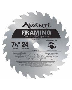 """Freud A0724A 7-1/4"""" 24 Teeth Avanti Framing Circular Saw Blade"""
