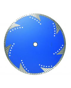 "LACKMOND PRODUCTS TBT10 Series 4 1/2""x.080x7/8""-5/8"" Turbo Diamond Blade for Granite"