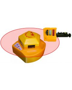 PLS360 System - 360 degree Self-Leveling Laser Level with Detector
