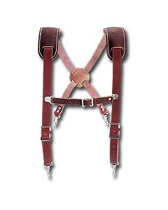 5009 Leather Work Suspenders