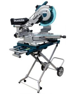 "LS1216LX4 12"" Dual Slide Compound Miter Saw with Laser and Stand"