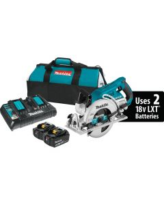 "XSR01PT 18Vx2 (36V) LXT Lithium-Ion Brushless Cordless 7-1/4"" Rear-Handle Circular Saw Kit"