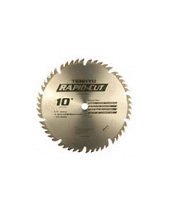 "10"" 24T, 5/8"" Arbor, ATB Ultra-Thin Rapid Cut Saw Blade, RS-25524-U"
