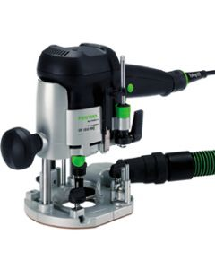"Festool 574339 OF1010EQ 1/4"" Plunge Router with T-Loc Systainer 3"