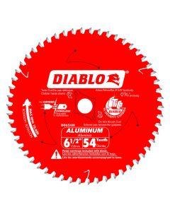 """Freud D0654N 6-1/2"""" 54 Teeth Diablo Aluminum Cutting Saw Blade"""