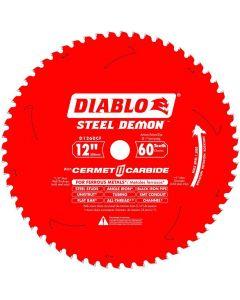 """Freud D1260CF 12"""" x 60 Tooth Steel Demon Diablo Metal Saw Blade"""
