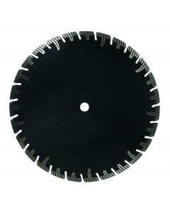 "LACKMOND PRODUCTS TBGR Series 4 1/2""x.080x7/8""-5/8"" Turbo Diamond Blade for Granite"