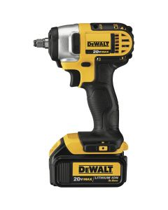 "DeWalt DCF883L2 20V MAX 3/8"" Compact Impact Wrench Kit with Hog Ring Anvil"