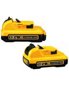 DeWalt DCB127-2 12V MAX Battery 2-Pack