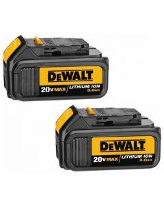 DeWalt DCB200-2 20V MAX* 3.0Ah Lithium Ion Battery 2-Pack